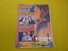 magazin Popular 1 Diciembre 1982 nº 114  AC/DC  Budgie  Rainbow  LP ç