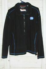 Budweiser Bud Light Fleece Size L Jacket Zip Up Fleece Jacket