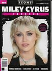 ICONS SERIES-MILEY CYRUS FANBOOK-ISSUE 6 *UK/EU Postage Included