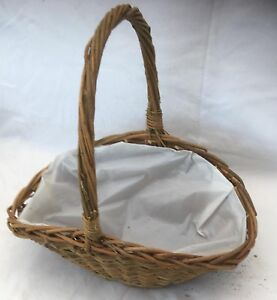 Wicker Dark Log / Display  Basket. Size 3