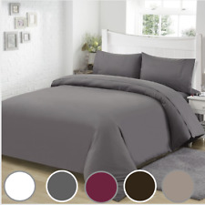 Super Soft 4 Piece Bed Sheet Set Deep Pocket, Single & King Sizes