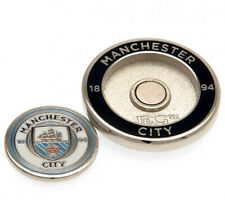 More details for manchester city f.c - duo golf ball marker - gift