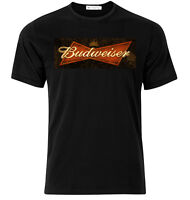 Budweiser I   - Graphic Cotton T Shirt Short & Long Sleeve