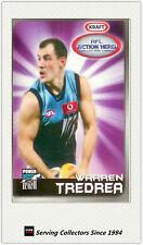 2007 Kraft Dairy AFL Action Heroes Card #12 Warren Tredrea (Port Adelaide)