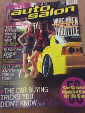 Auto Salon Magazine 50th Issue