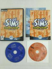 Jeu PC VF Les Sims Superstar Disque Additionnel avec notice  Envoi rapide suivi