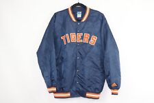 Vintage 90s Adidas Mens Large Detroit Tigers Spell Out Baseball Bomber Jacket