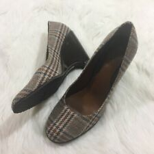 Cole Haan  Tweed  Wedge Heels - Size 9 - NikeAir Technology