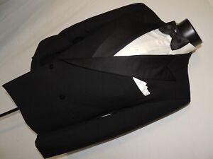 Pierre Cardin made in France men's Double breasted formal tuxedo jacket 42 R