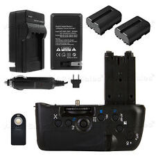 Battery Grip for Sony A77 + 2x FM500H Battery + Charger +Remote