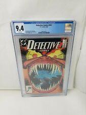 Detective Comics #593 DC Comics 1988 CGC 9.4 NM 1st App. Jeremiah Arkham