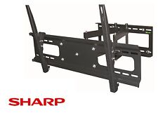 "Cantilever Tilt Swivel Sharp TV Wall Mount 42 Inch 50"" 55"" 60"" 65"" 70"" LED LCD"