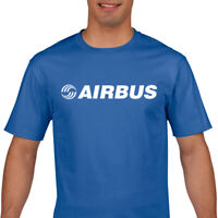 Airbus T Shirt - Airbus Logo T Shirt  - Aviation T Shirt