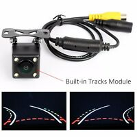150° Rear View Camera w/ 4IR LED Night Vision Back Up Monitor Reverse Trajectory