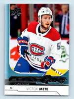 2017-18 Upper Deck Young Guns Victor Mete RC #245