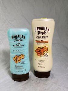 Hawaiian Tropic Sheer Touch Silk Hydration Weightless After Sun Gel 6 OZ