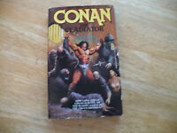 CONAN THE GLADIATOR BY LEONARD CARPENTER - 1/95 - TOR 1ST ED- NICE- FREE SHIPPG