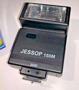 Jessop JES150M manual flashgun, g/n 24/m, 1970s
