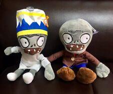 "7""+9"" PLANTS vs. ZOMBIES POPULAR Soft Plush Toy Doll littleI cute zombie"