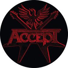 IMAN/MAGNET ACCEPT . duo hard rock wasp ac/dc rose tattoo motley crue heavy meta