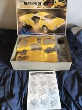1:12 Ford Mustang Rare 65gt Fastback 1970s Kit