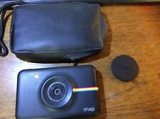Polaroid Snap Instant Digital Camera with ZINK Zero Ink Tech (Black) - Untested