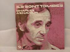Charles Aznavour – Ils Sont Tombés                     Barclay – 62.133