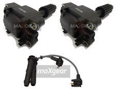 2x Zündspule + Zündkabelsatz MAXGEAR SCORPIO TRANSIT ESCORT 2 X MG-00151+53-0113