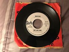 """MARGIE MILLS """"Look Who's Crying On My Shoulder / What About Mine"""" Groove 0059 EX"""