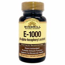 E-1000 I.U. 30 Softgels Windmill  Health