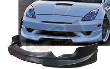 C1 Style Front Lip for 2003 2005 Toyota Celica Unpainted Black PolyUrethane