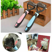 Dog Puppy Cat Pet Hair Shedding Grooming Undercoat Hair Brush Comb Rake Tool Pro
