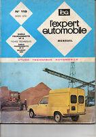 RTA revue technique l'expert automobile n ° 119 SIMCA Fourgonnette VF 2 VF2