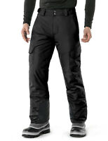 TSLA Men's Winter Snow Pants, Insulated Ski Pants, Windproof Snowboard Bottoms