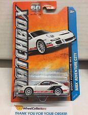 2007 Porsche 911 #8 * WHITE * Matchbox * E1