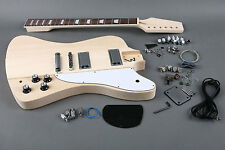 DIY 6 STRING REVERSE OFFSET STYLE ELECTRIC GUITAR LUTHIER BUILDER KIT