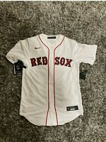 Nike MLB Boston Red Sox Mookie Betts #50 White Home Jersey Mens Sz S NWT $135