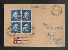 1941 Kielce Poland to Kiel Germany GG cover Registered
