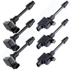 Ignition Coils 6pcs On Pack for Infiniti I30 Nissan Maxima 3.0L V6 UF363 & UF348