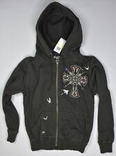 Monarchy Men's Full Zip Hooded Jacket Size M New Designed In Los Angeles