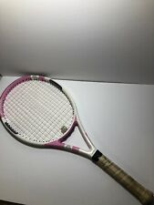 "Dunlop LADY M-Fil Pink Tennis Racquet • 4 1/4"" • 108 Square Inches"