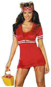Dreamgirl Sexy Little Red Riding Hood Costume Gangsta Lil Red From Da Hood Small