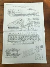 More details for 1914 large engineering print - ( the rjukan hydro - power station norway  )