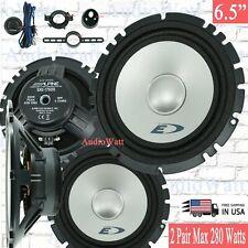 "4x Alpine Sxe-1750S 6.5"" 2-Way Car Audio Component Speaker System 2 Pairs"