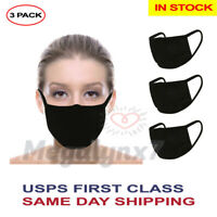 Washable Reusable Face Mask (In Stock) - Double Layer - 3 Pack, Ships From USA