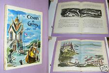 233/ LIVRE ILLUSTRÉ CONTES DE GRIMM 1957 - ILLUSTRATIONS J.M. RABEC -BAIS PARIS