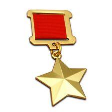 More details for hero of the soviet union gold star highest soviet medal ussr gift ww2 award new