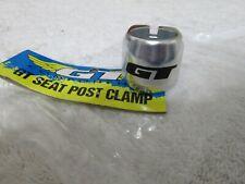 Nos BMX GT seat post clamp  chrome  25.4 double bolt