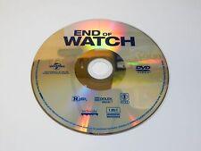 New End of Watch DVD 2013 Jake Gyllenhaal NO BLU-RAY OR DIGITAL ULTRAVIOLET COPY