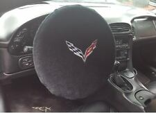 C7 Corvette Steering Wheel Cover/Protector Velour Terry  Cloth - UV Protection